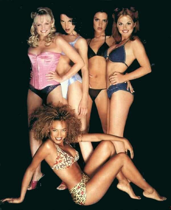 Was under spice girls in bikini