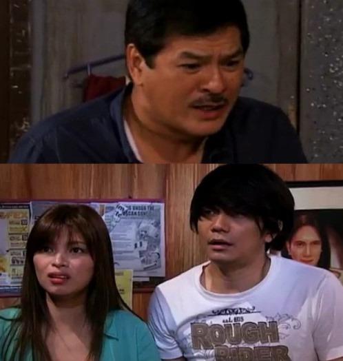 Tay Mac (Al Tantay) caught Justin (Vhong) and Isabel (Angel) in bed