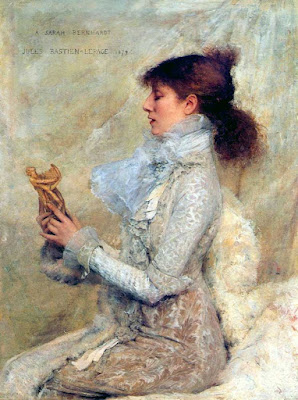 luc travers jules bastien-le page sarah bernhardt one obejctivist's art object of the day