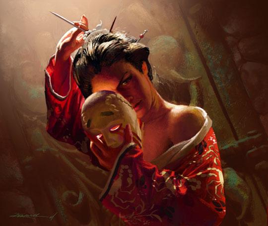 Corta el pelo con katana