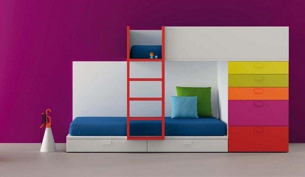 I d e a habitaciones a todo color para ni s - Paredes decorativas interiores ...