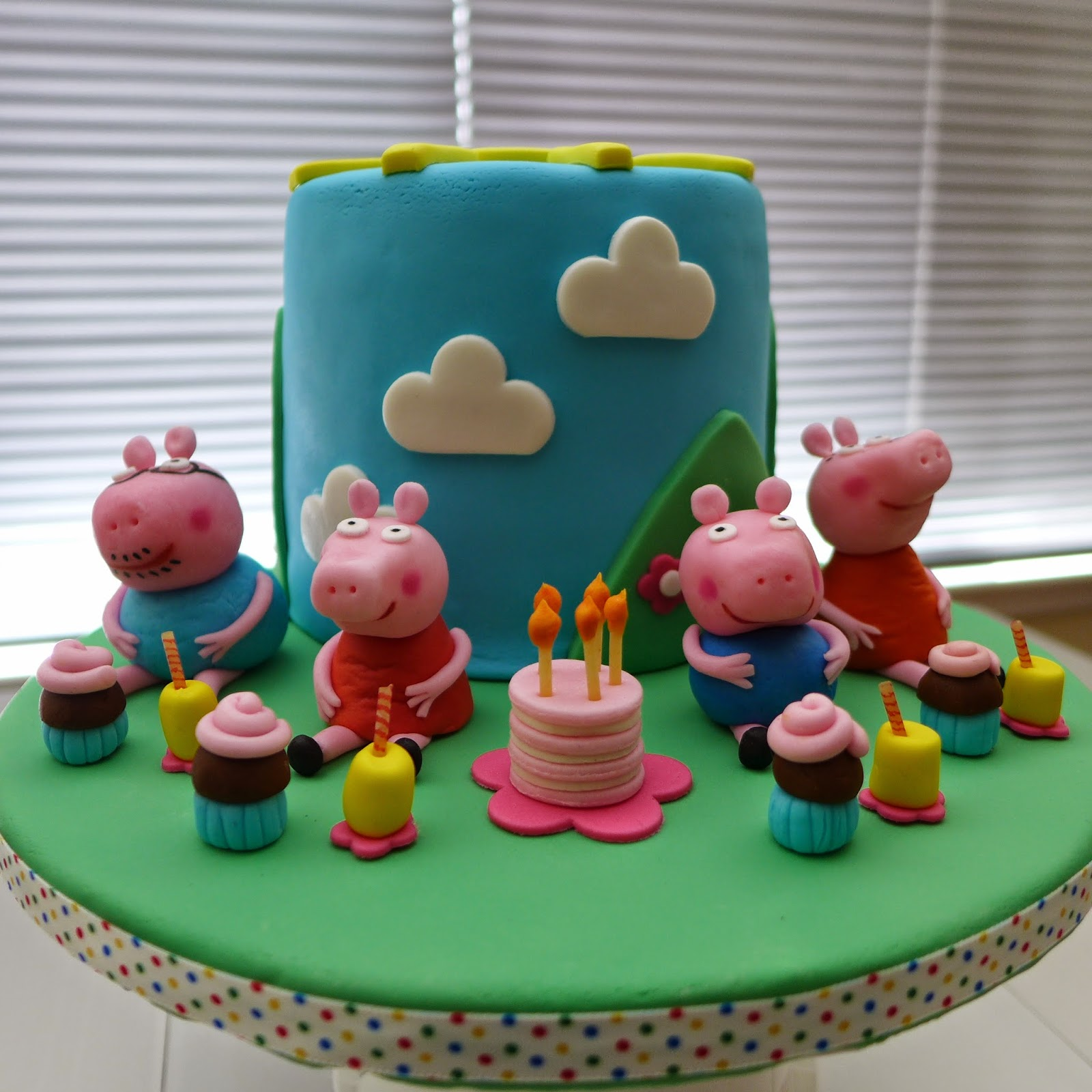 Dough And Batter A Peppa Pig Cake For Bella