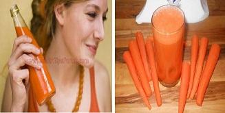 Ella-estaba-bebiendo-jugo-de-zanahoria-cada-mañana-por-8-meses-y-luego-sucedió-lo-increíble
