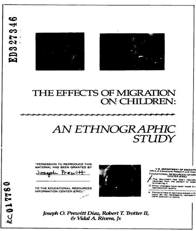 The Effects of Migration on Children: An Ethnographic Study