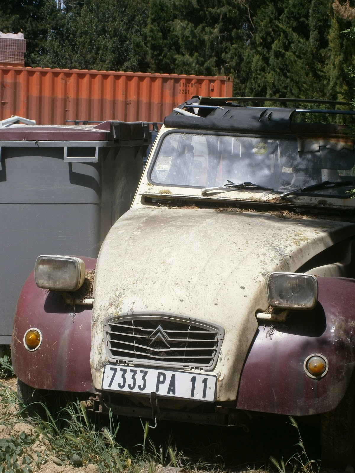 Travelling through france may 2012 for Garage citroen saint remy de provence