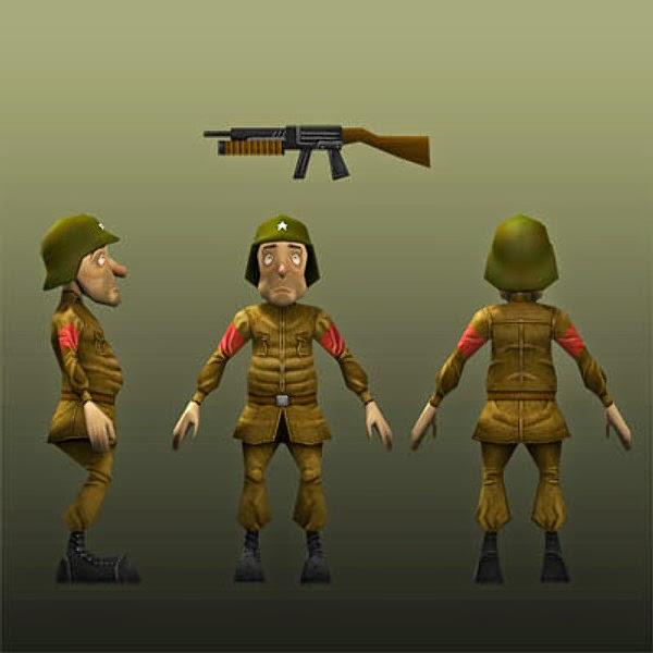 Kisah Tiga Orang Serdadu