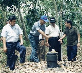 Sumur minyak tua telaga said kabupaten Langkat