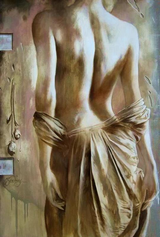 Godfrey Yarek 1957| French Realistic Figurative painter