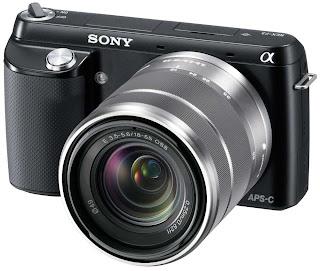 Sony NEX-F3 release