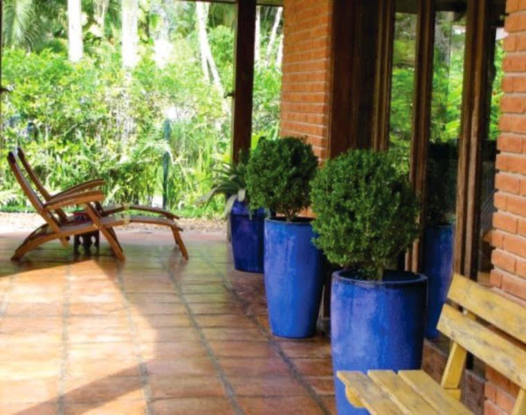 Construindo minha casa clean vasos vietnamitas na for Vaso piscina
