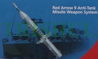 منظومة الصواريخ المضاده للدروع ذاتية الحركه Hj-9   الصينيه   Red+Arrow-9+ATGM