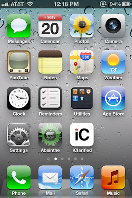 Jailbreak IPhone 4S with Absinthe Greenpois0n