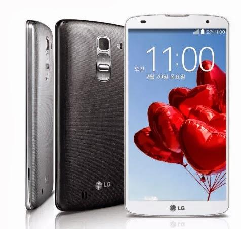 LG G Pro 2: un phablet con especificaciones técnicas innovadoras