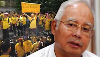 Peserta perhimpunan haram miskin semangat cinta negara-Najib