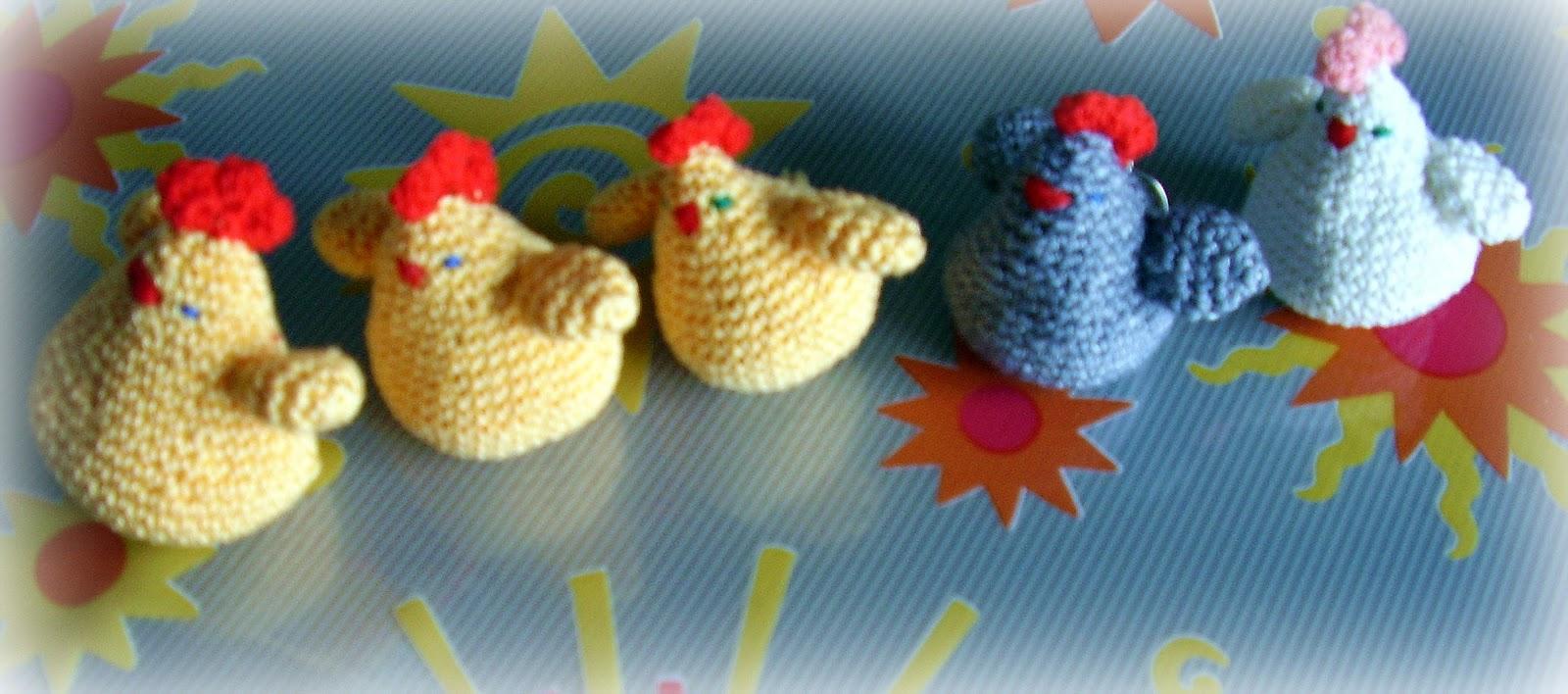 Gallina Amigurumi Uncinetto : Passe-partout: Una gallina, pensando a Pasqua...