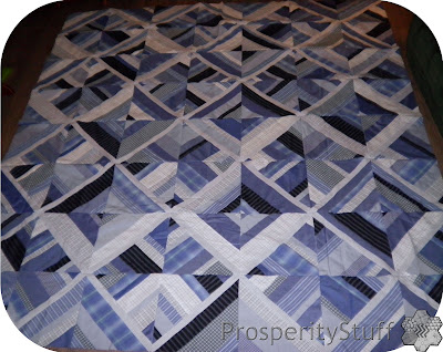 The Shirt Quilt Top - ProsperityStuff
