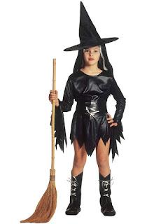 Halloween Kostume Ond Heks