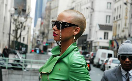 Amber RoseA-morir sunglasses