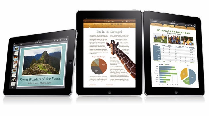 Pages App on iPad