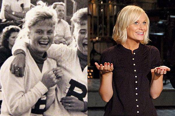 Amy Poehler — I bet Amy Poehler was probably the funniest cheerleader on the squad.