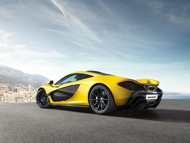 ALL about the new McLaren P1, debuting at Geneva this March