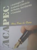 Antologia da ACAPEC, de que estou participando