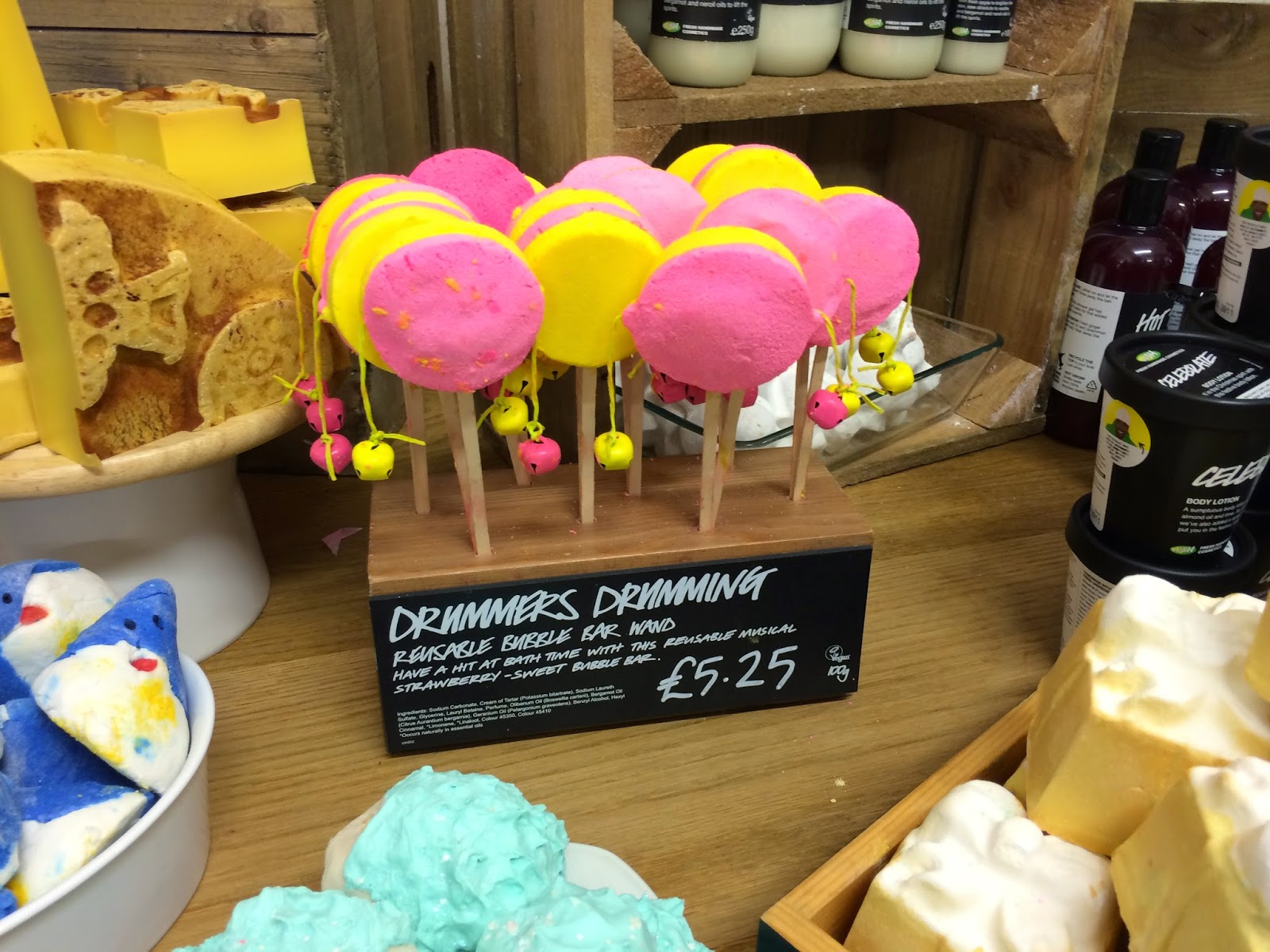 Drummers Drumming Bubble Bar by Lush Cosmetics