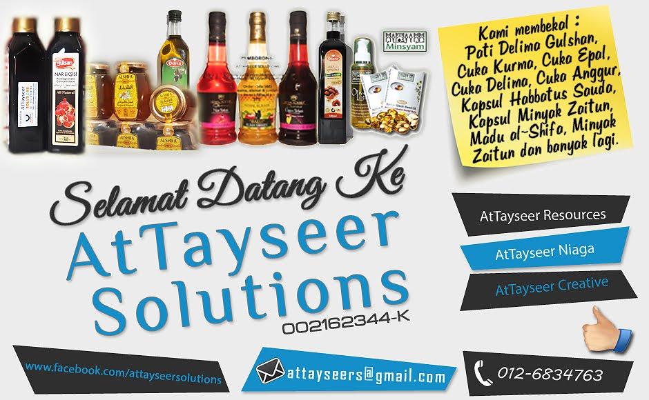 ATTAYSEER SOLUTIONS  -002162344-K