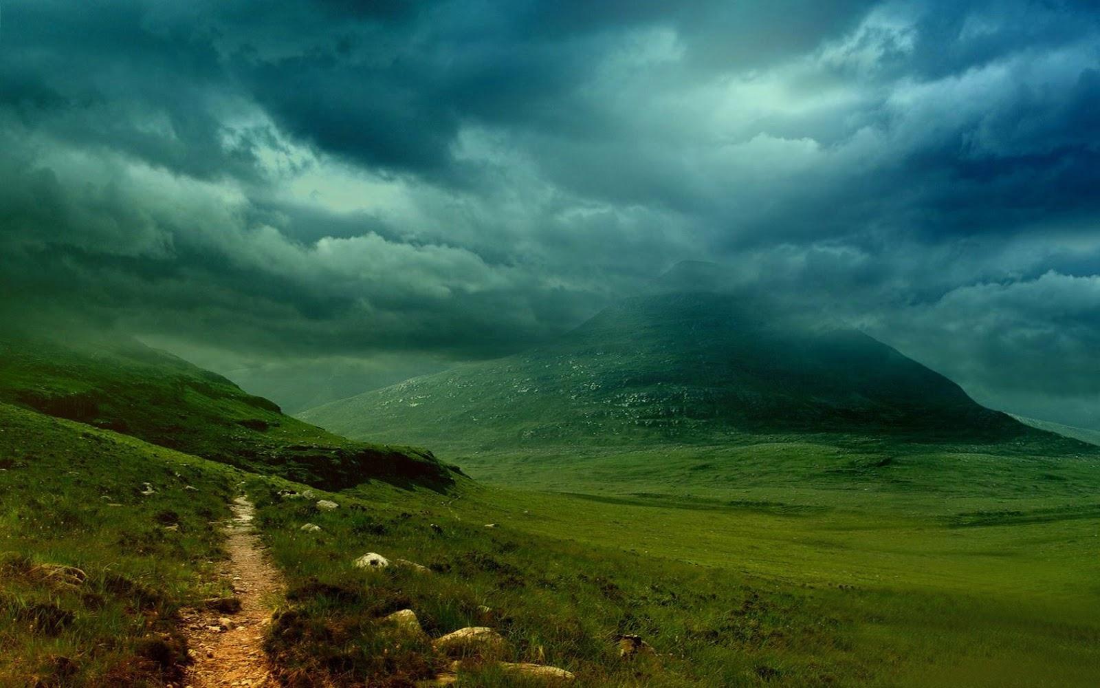 cloudy mountain phone wallpaper - photo #36