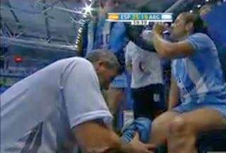 VIDEO La lesión de Lula Haro en Serbia | Mundo Handball