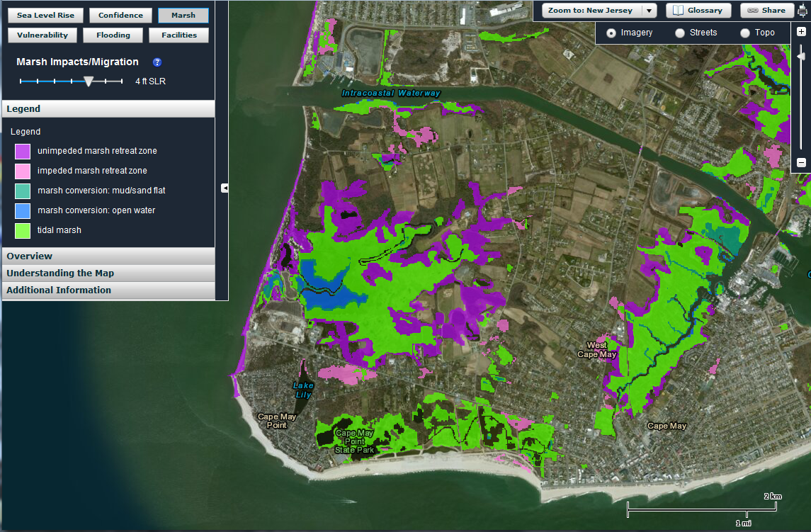 Places and spaces nj flood mapper for Spaces and places