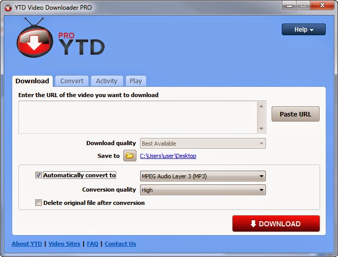 the gallery for gt youtube downloader free download