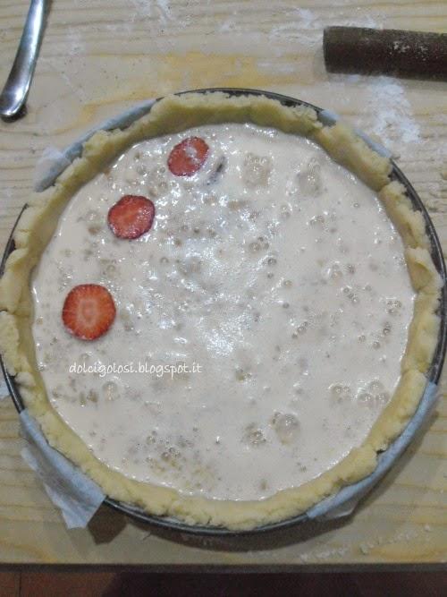 Dolci golosità: crostata fragole