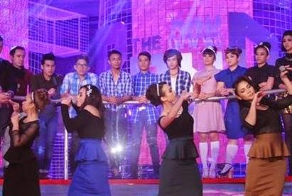 Team The Band: Rania Ahli Rania: Diana, Jen Shukri, Mustika, Rich Norrye Lagu rania Percayalah, konsert the band minggu 5