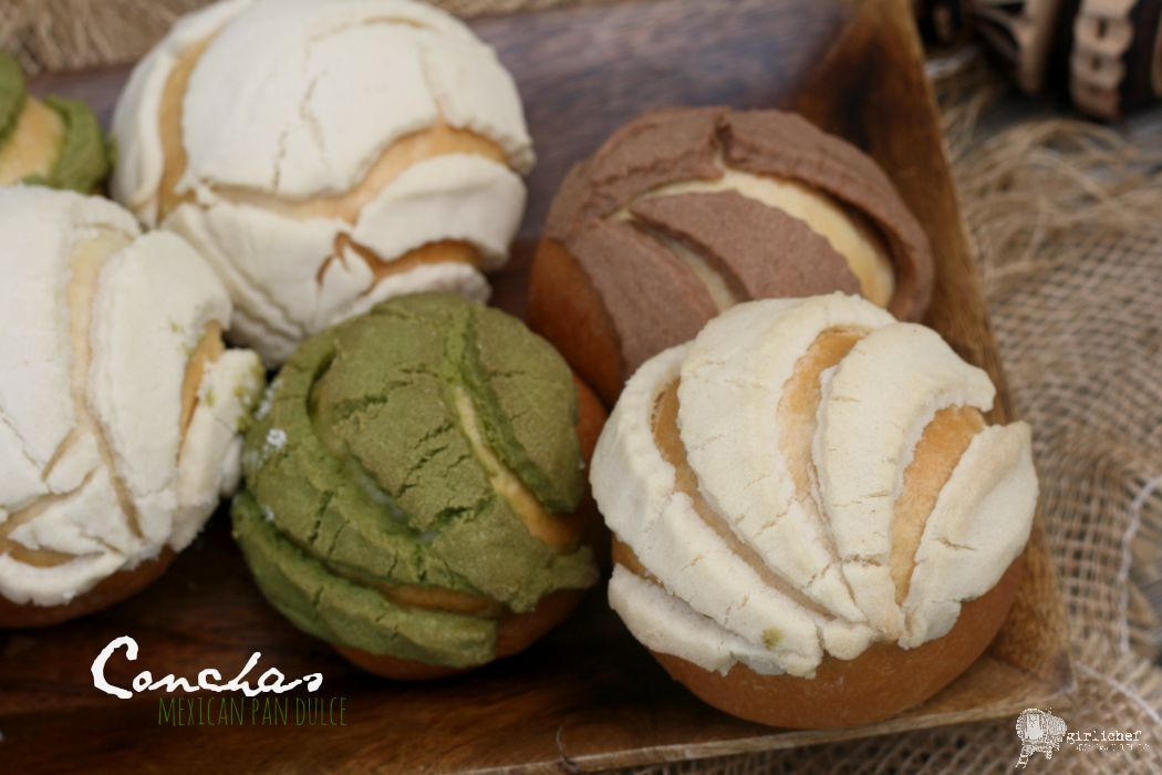 conchas (without food dye) - all roads lead to the kitchen