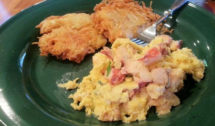 Taste and Tell Recipes: Lobster scrambled eggs
