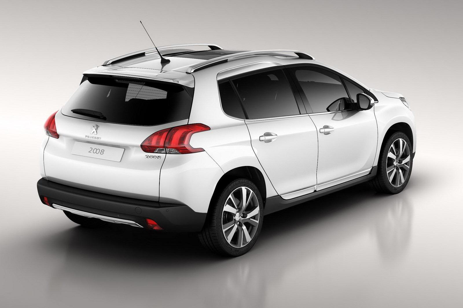 Spoiler All New Peugeot 2008 Automotive Car Manufacture