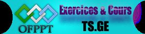 Les modules de la 1ere & 2eme année TSGE EXE+TSGE