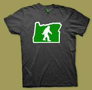 "Like my ""Squatchin' Oregon"" t-shirt..?  Me too!!"