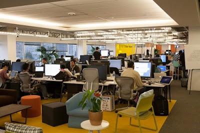 tempat karyawan Facebook bekerja