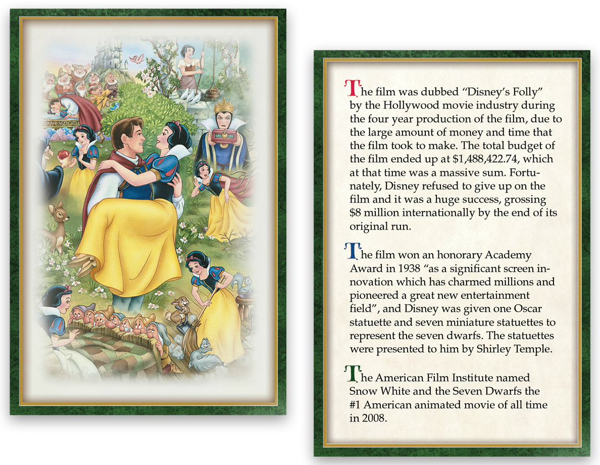 Filmic light snow white archive bradford exchange 75th stock images copyright bradford exchange 1betcityfo Choice Image