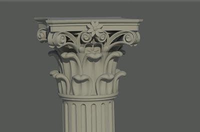 Scaling the Classical Order of Columns in Revit