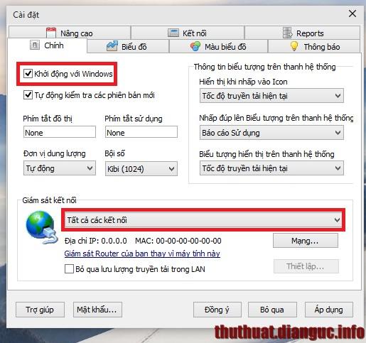 Download NetWorx 5.0.4 mới nhất – Phần mềm giám sát lưu lượng internet