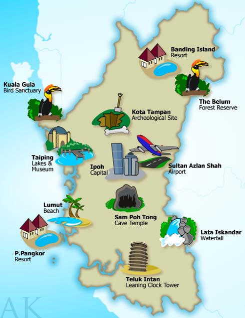 Perak - State And Attractions