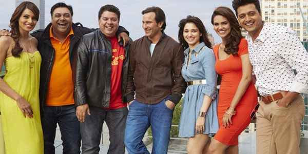 Sajid Khan, Humshakals, Tamannaah Bhatia, Saif Ali Khan, Riteish Deshmukh, Ram Kapoor, Esha Gupta, Bipasha Basu, Bollywood, Latest Flick, Movies, Songs, Films, Trailers, Pictures, Images,