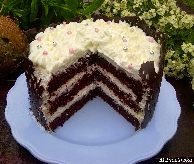 Domowa Cukierenka Tort Kawowo Kokosowy