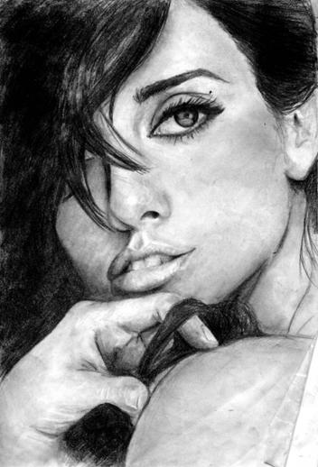 Penélope Cruz en retrato