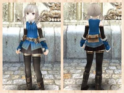 冒険者の服(紺色1)