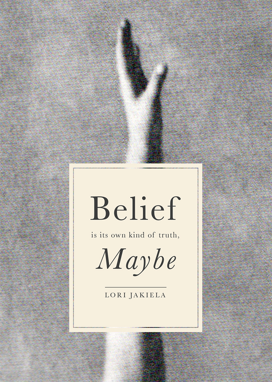 Nm Design Quot Belief Maybe Quot Book Cover