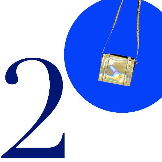 Top 5 Crossbody Bags For Summer 2013: Hologram Satchel